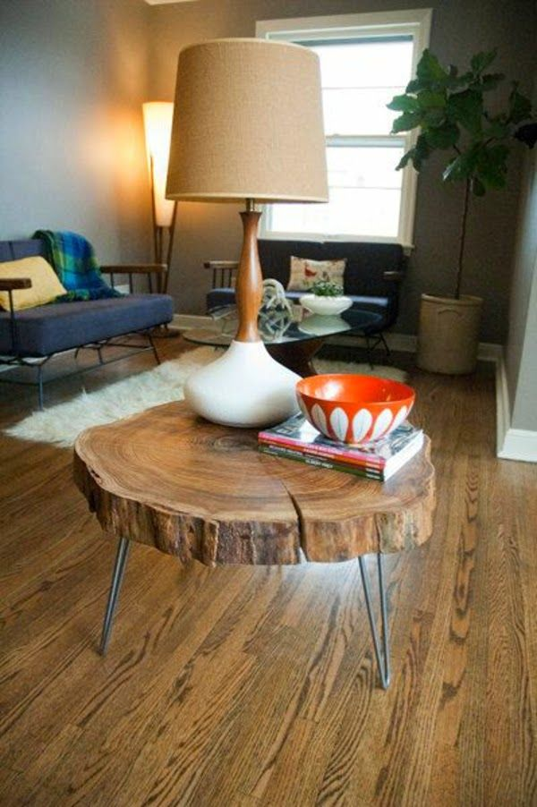 Cool small round coffee table ideas: 20 functional designs ...