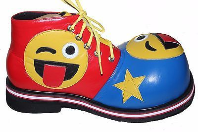 Professional Clown Shoes Smiley Costume Theater Emoji