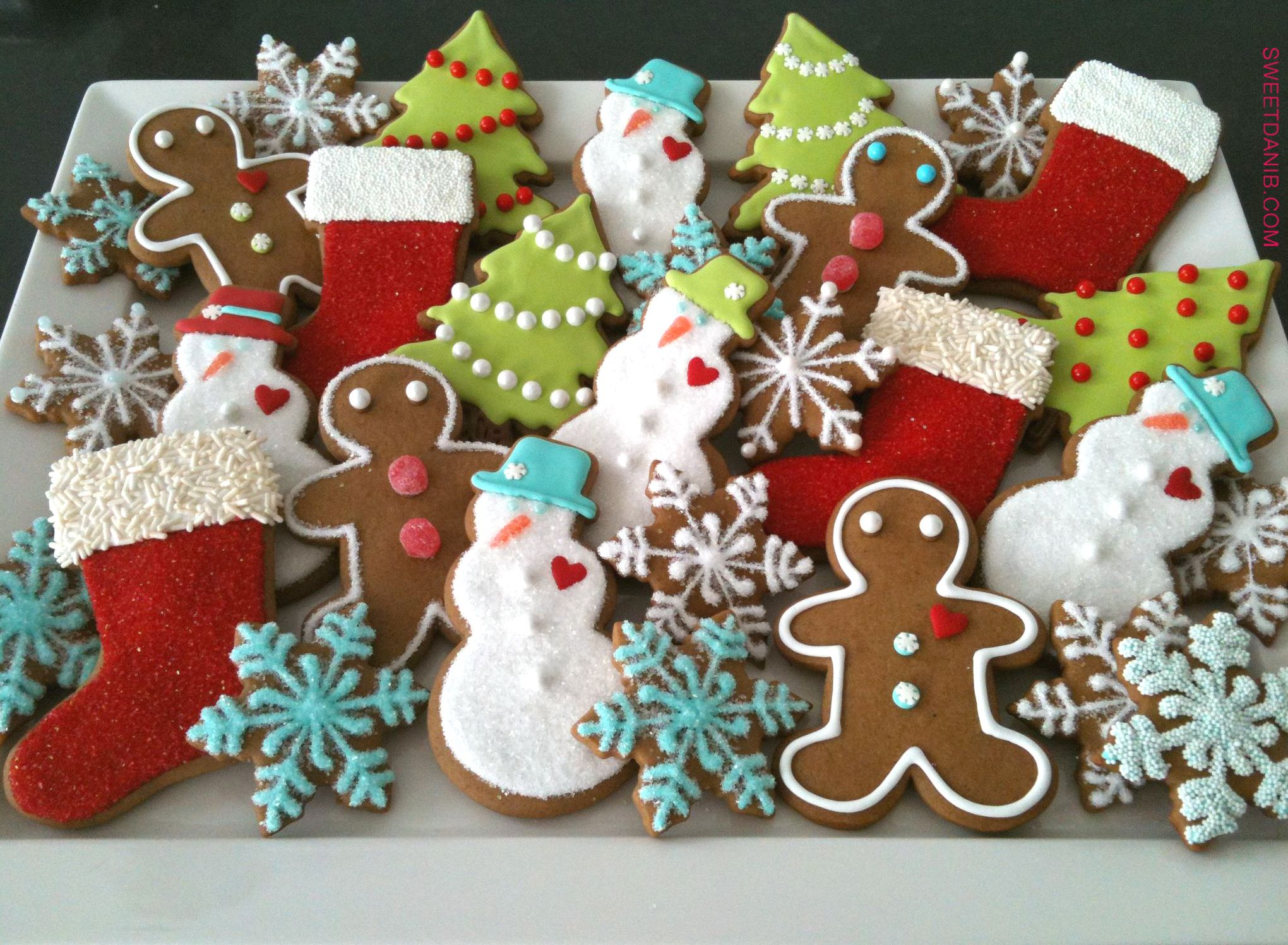 Holiday Cookie Platter As Seen On The Cover Of Good Housekeeping