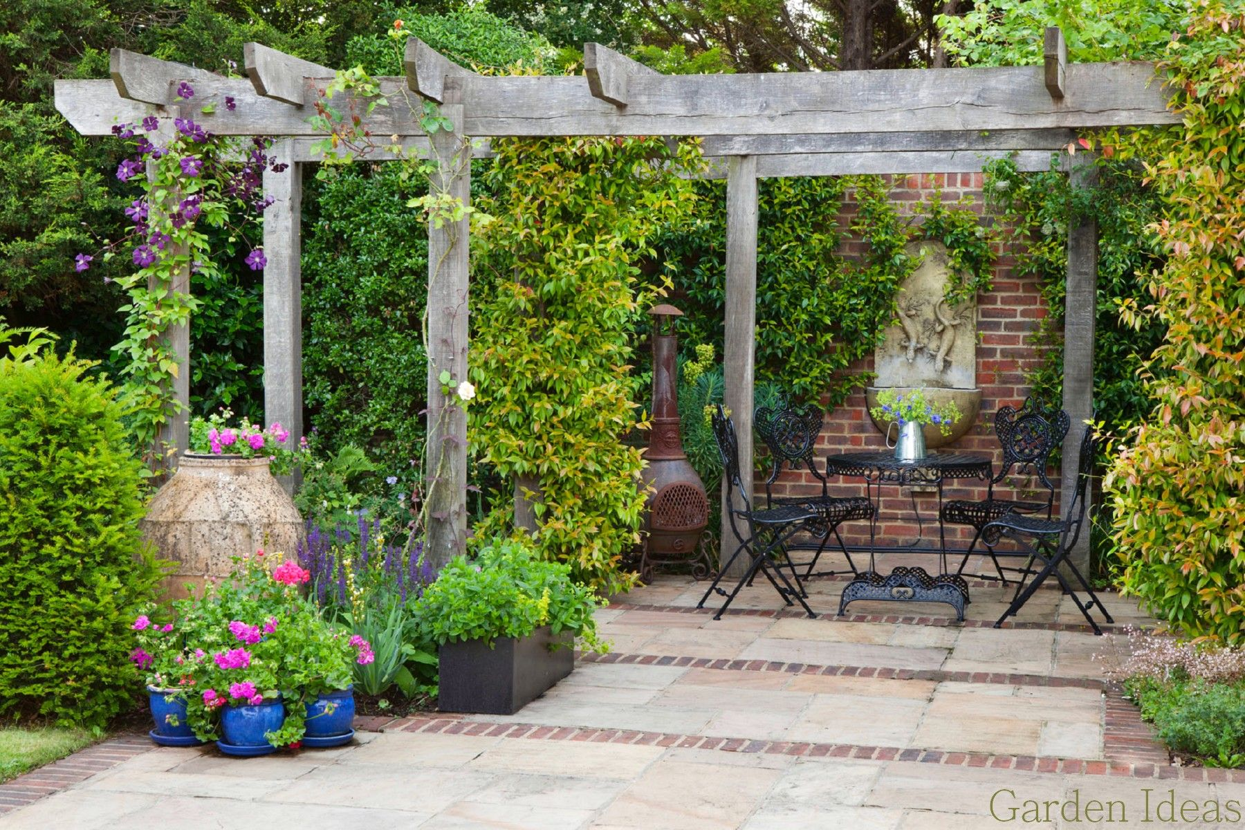 Exciting Design A Garden Photo Container Gardens Inspiring Design Ideas Front Yard Landscaping Plants Roses New