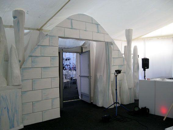event prop entrance Winter Wonderland Theme - Event Decorators - christmas decorators for hire
