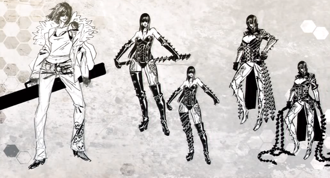 Early Mathilda Concept Art From Anarchy Reigns Max Anarchy