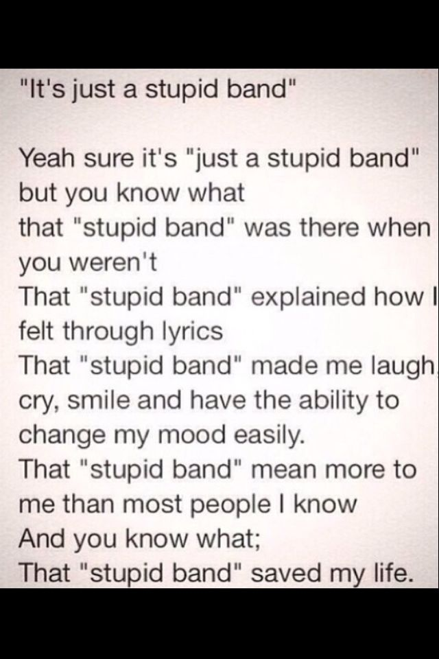 THIS IS ME WITH TWENTY ONE PILOTS AND I WOULD HARDLY CALL THEM STUPID. THOSE BOYS HAVE SAVED ME SO MUCH YOU HAVE NO FRICKIN CLUE. #fallmemes
