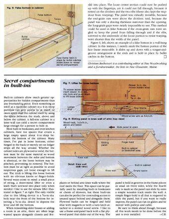 1955 Furniture Secret Compartments Furniture Plans Secret Places