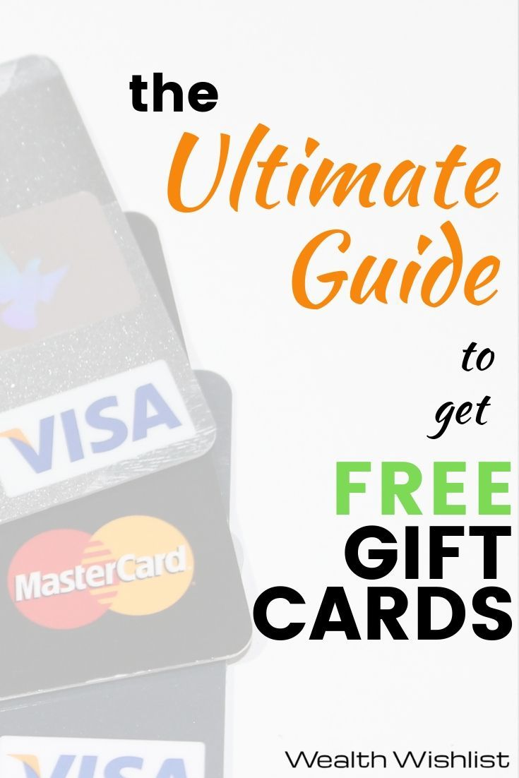21 insanely easy ways to get free gift cards mastercard