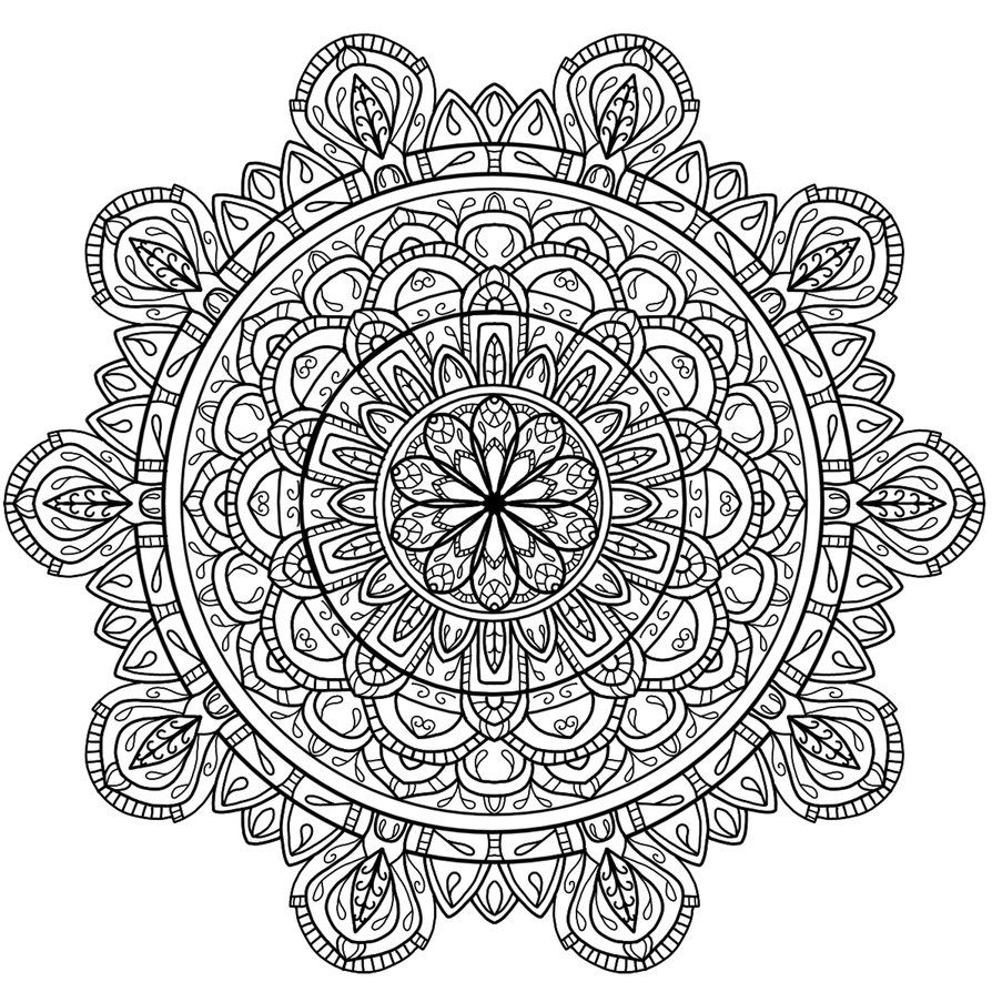 Circles mandala 5 by WelshPixie