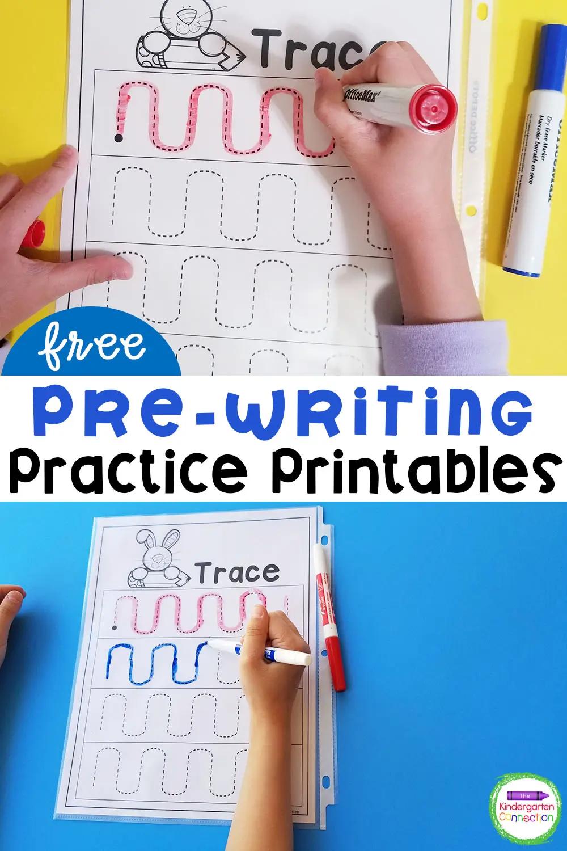 Free Pre Writing Printables Pre Writing Pre Writing Practice Writing Printables [ 1500 x 1000 Pixel ]