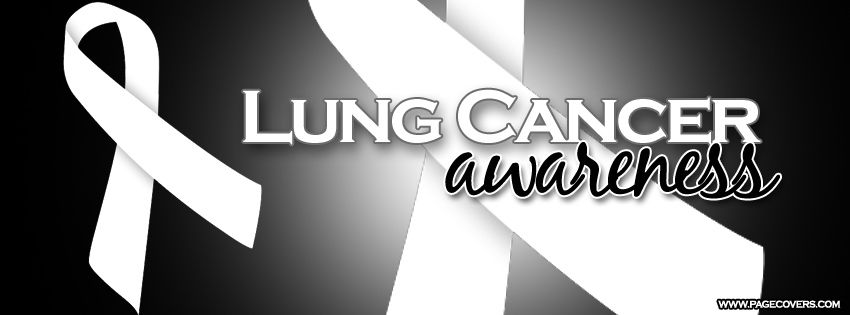 43409a85c3a Lung Cancer Awareness month is November!   facebook covers   Lung ...