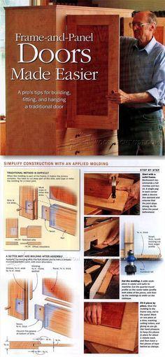 Making Frame And Panel Doors Cabinet Door Construction Techniques
