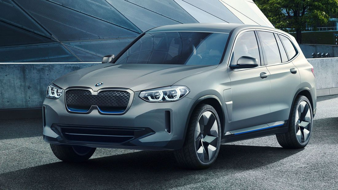 Bmw Ix3 2020 Elektro Suv Mit Benziner Reichweite In 2020 Elektroauto Bmw Elektrofahrzeug