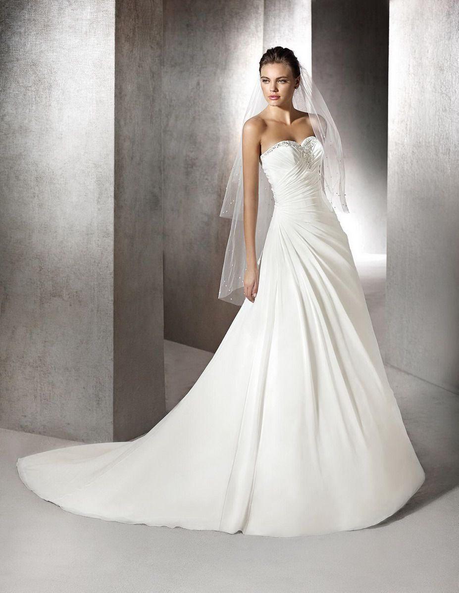 San patrick bridal gown style zafiro bridal dress pinterest