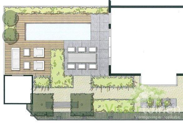 Ontwerp middelgrote tuin tuin pinterest ontwerp for Ontwerp tuin