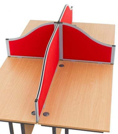 Morton Acoustic Wave Desk mounted Office Screens