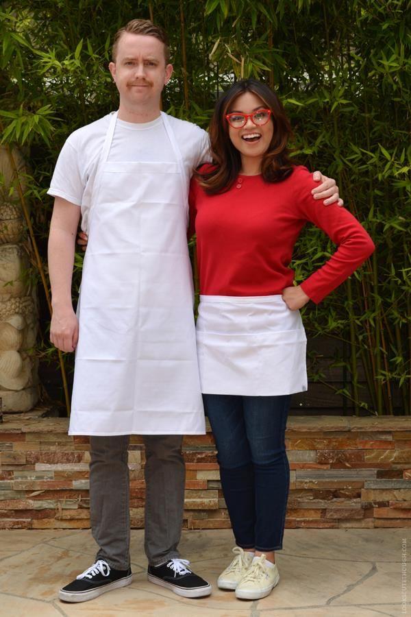 linda and bob bob\u0027s burgers costume - Google Search Halloween - unique couples halloween costumes ideas
