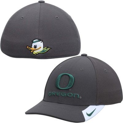 3a92dc6d Oregon Ducks Nike Conference Legacy 91 Performance Flex Hat – Anthracite