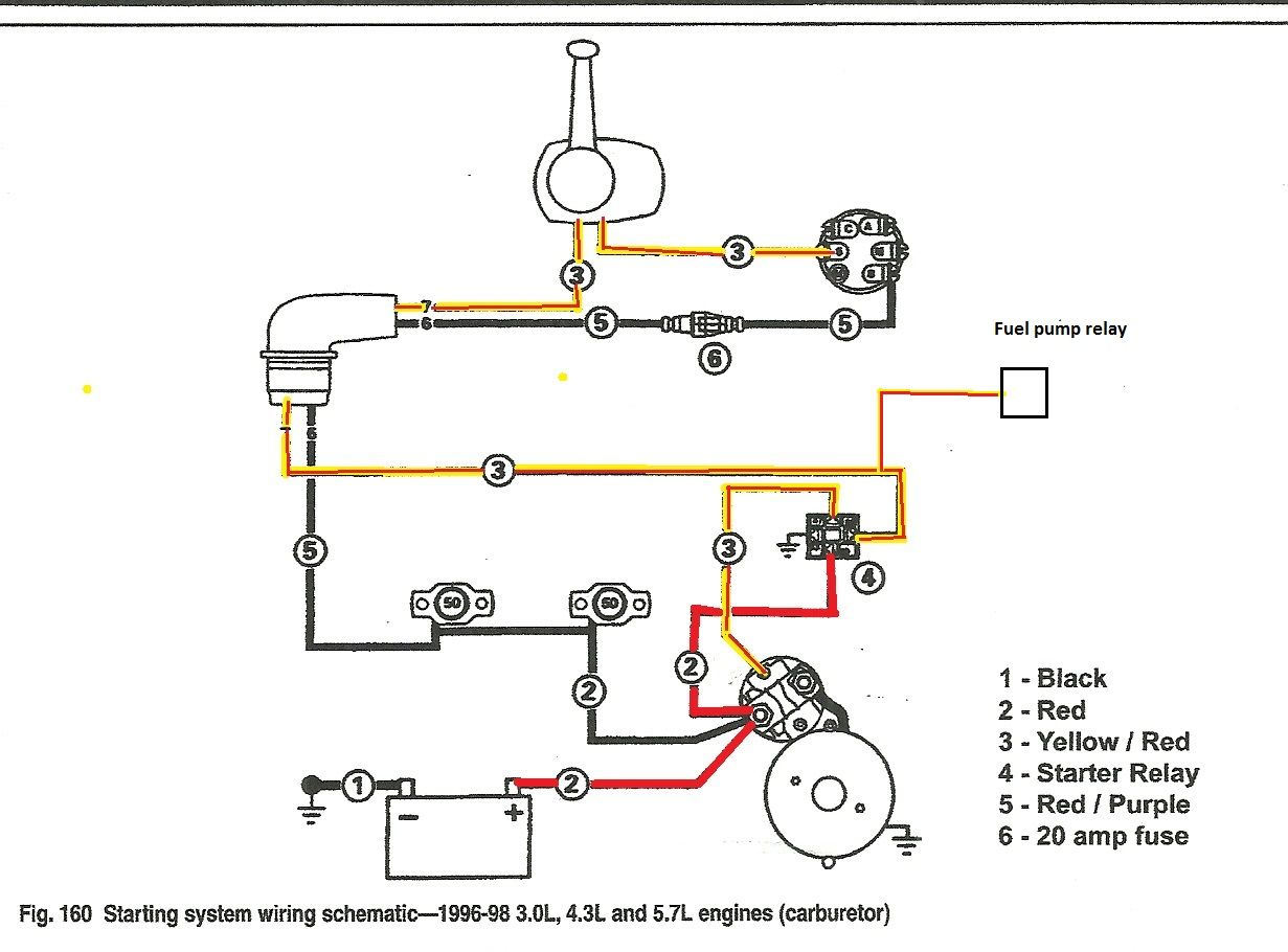 2a7dc589d5df6b77cc87ed1b3c3bd0d1 volvo penta starter wiring diagram digital motor�wki pinterest 4.3 Vortec Wiring-Diagram at readyjetset.co