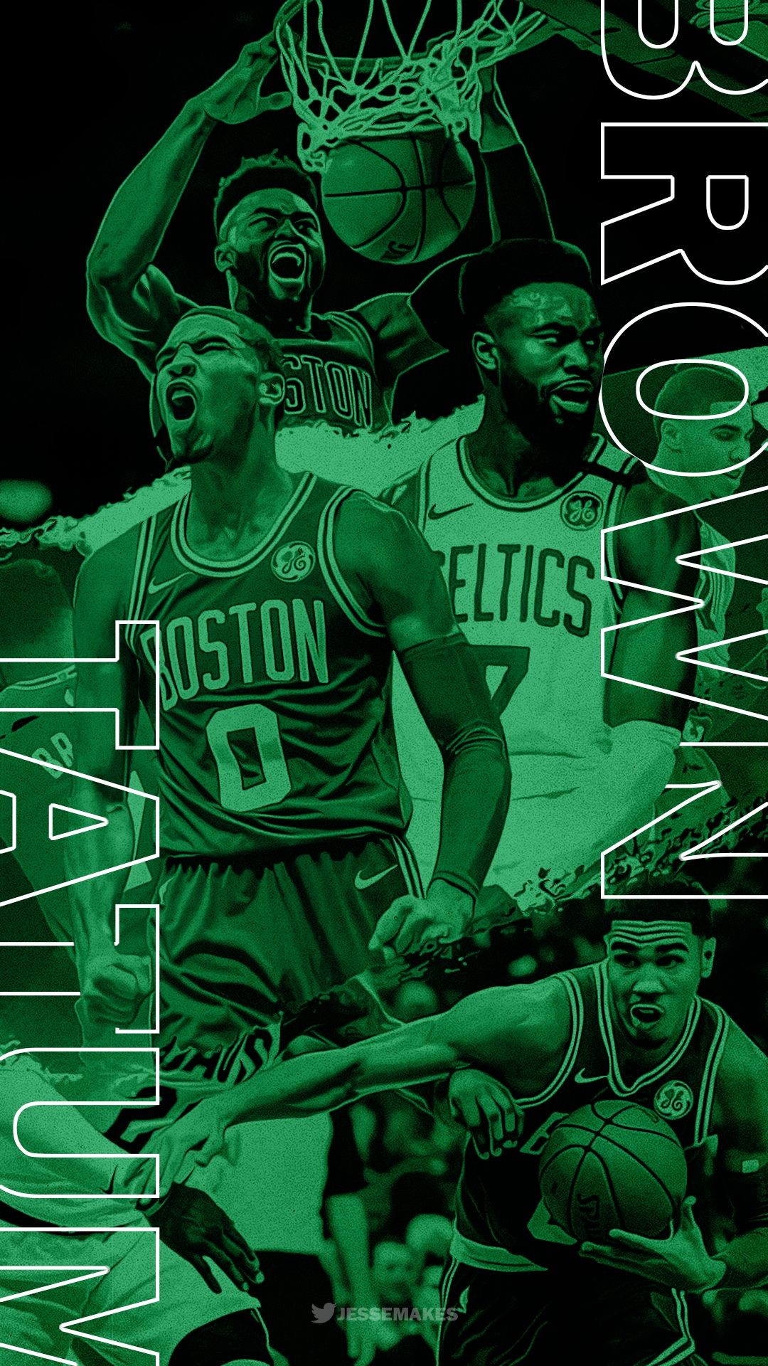 Brown Tatum Boston Celtics Wallpaper Celtics Basketball Nba Wallpapers