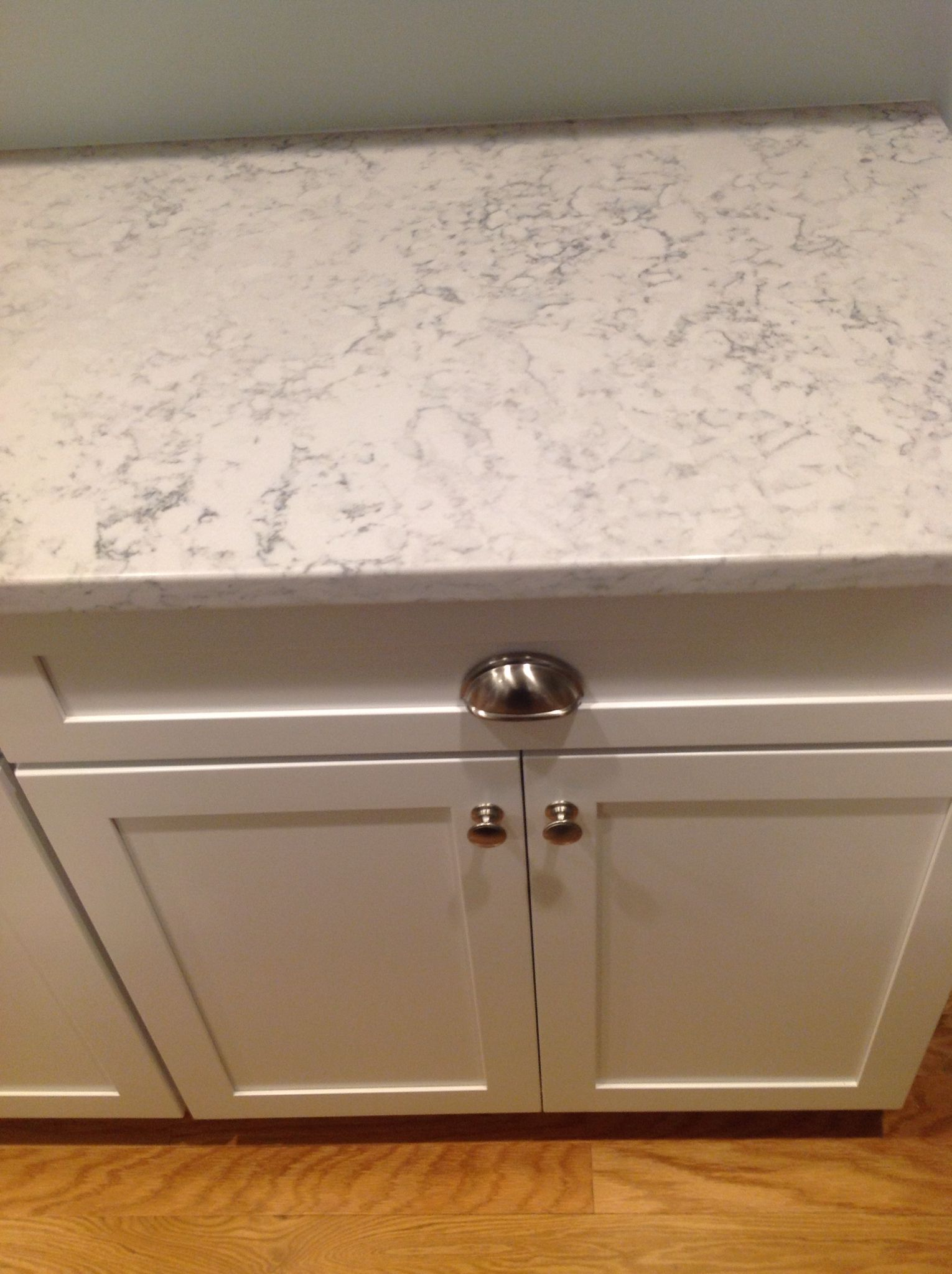 Silestone Helix Countertop Really Looks Like Marble My Dream Kitchen Pinterest