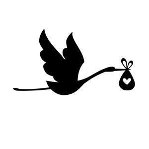 """Résultat de recherche d'images pour """"cigogne annonce silhouette transparent"""""""