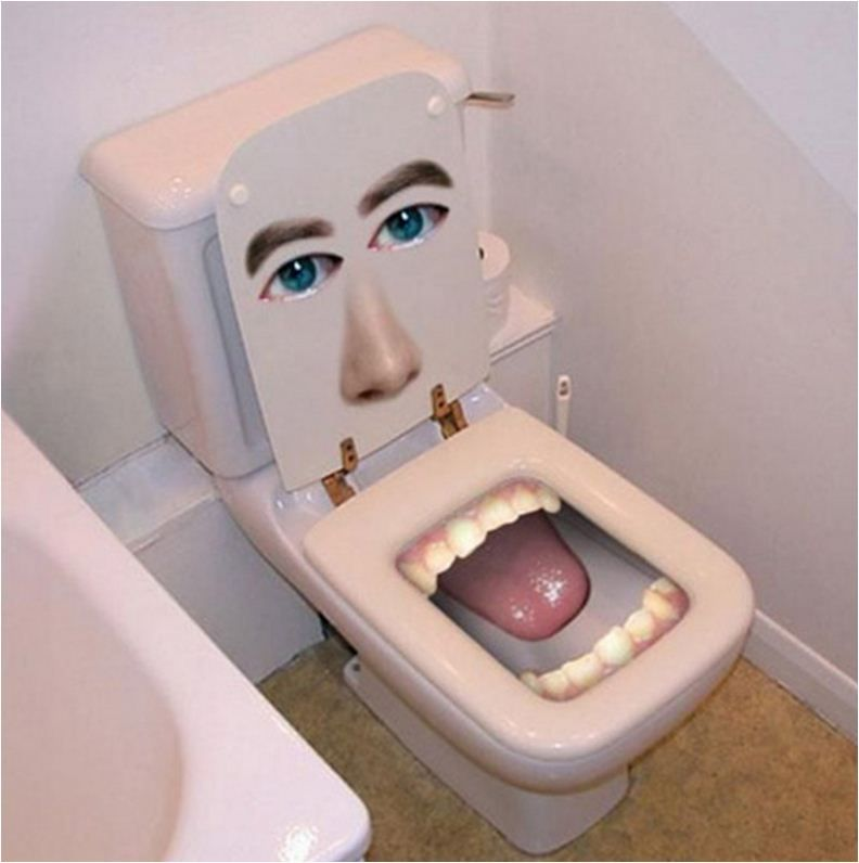 Funniest Toilet Seat Cover In The World With Images Funny
