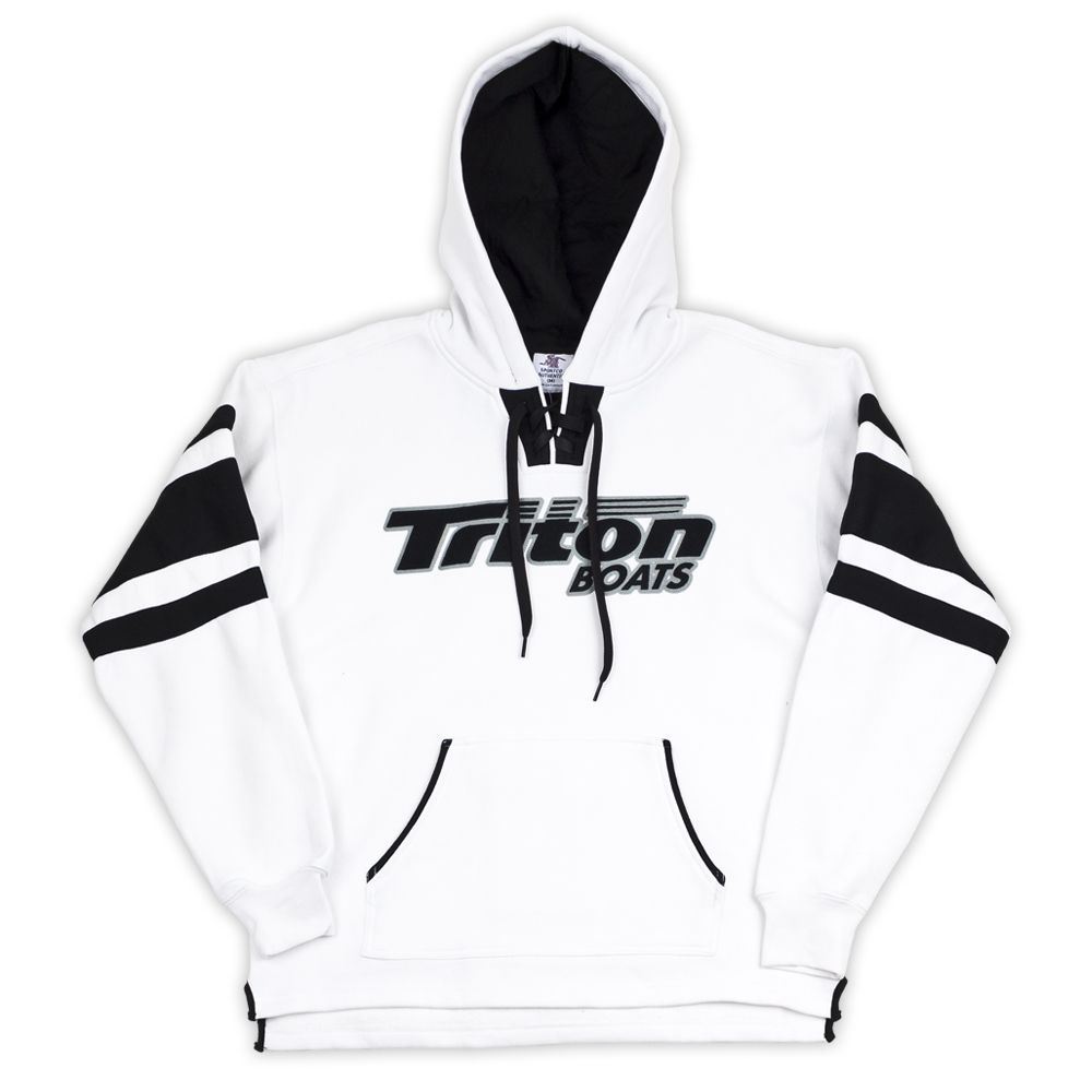 Triton Boats White Pullover Hoodie Bass Fishing Pinterest Wiring Diagram