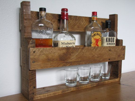 reclaimed rustic wood whisky rack made from hardwood. Black Bedroom Furniture Sets. Home Design Ideas