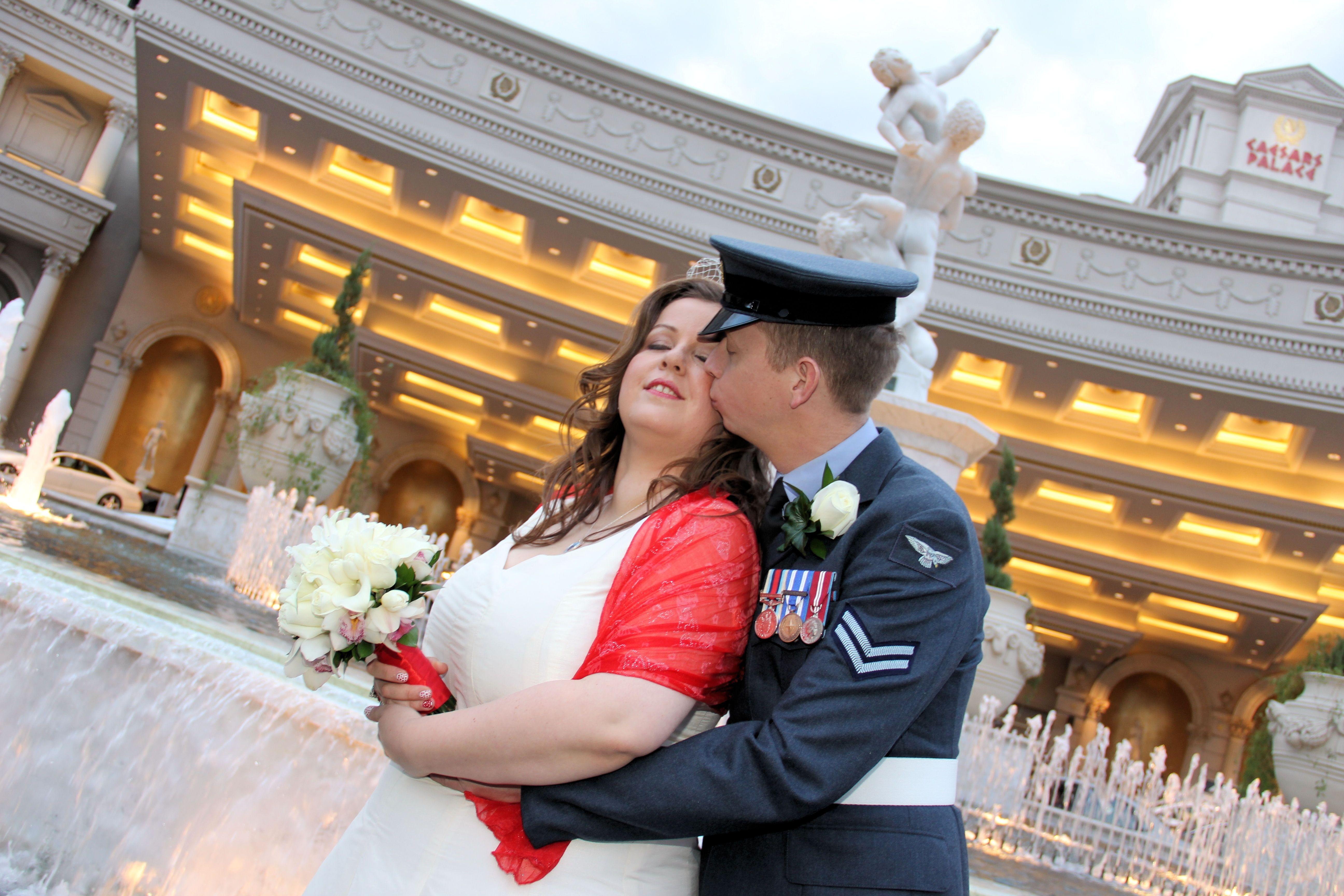 Vegas romance wedding Wedding, Ceremony, Romance