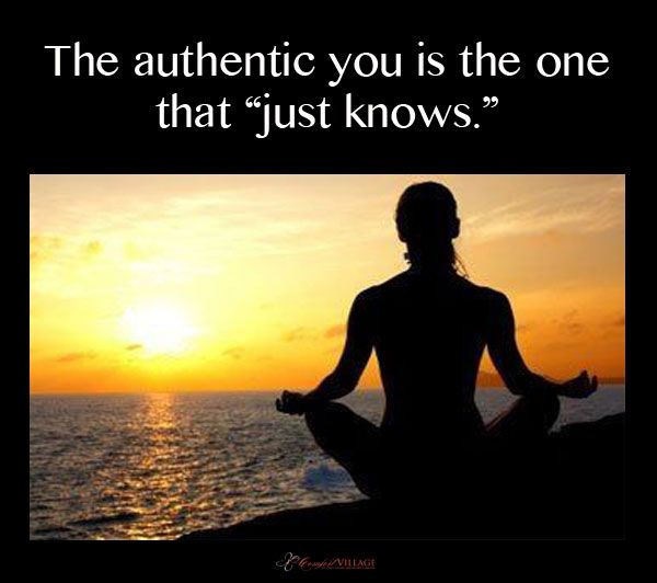 The authentic YOU.