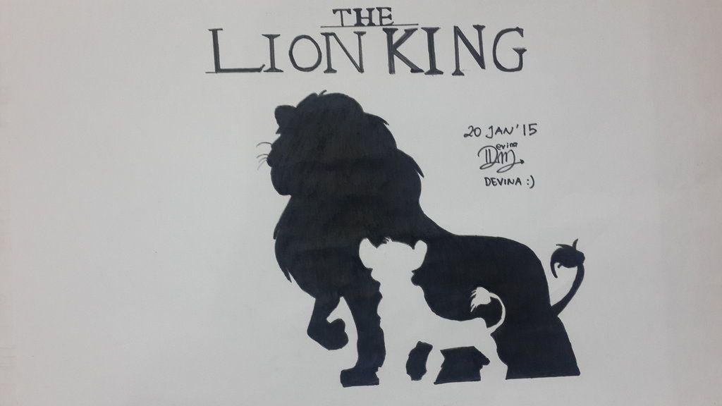 Lion King Silhouette Cakepins Com Baby Boy Disney Lion