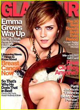Cover of Glamour. Oh yes. :)