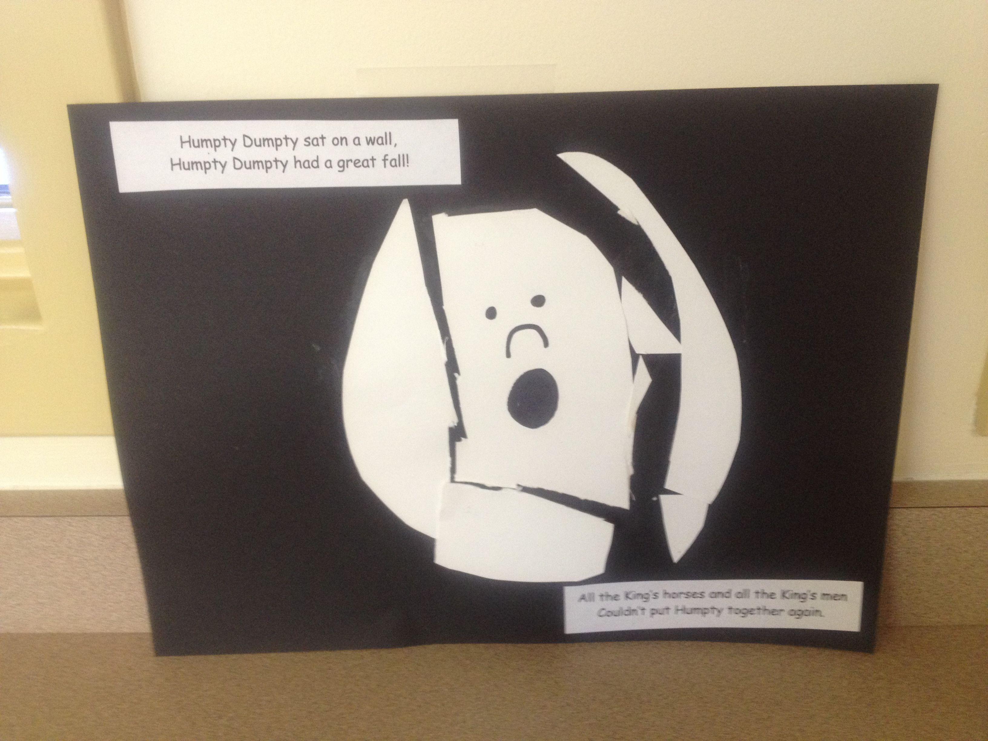 Humpty Dumpty cutting practice activity | Nursery Rhymes | Pinterest ...