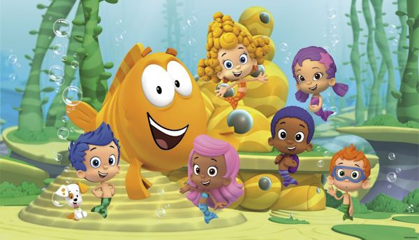 Bubble Guppies XL Wall Mural 6.5 x10 Feet - Wall Sticker Outlet | XL ...