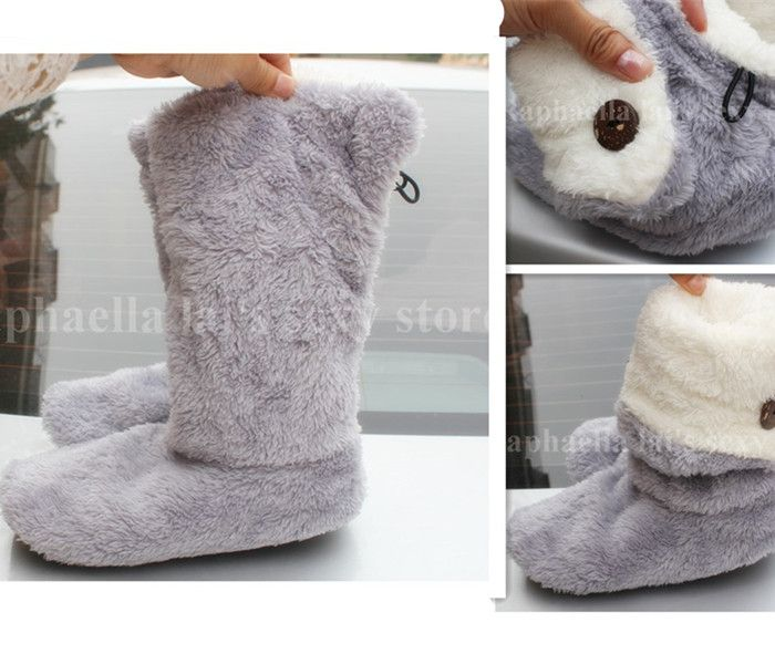 Photo of ToLaiToe Free Shipping Home Soft Plush Home Shoes Slippers Coral Fleece Indoor Floor Sock Indoor Slipper Winter Foot Warmer Best-in Slippers from Shoes on Aliexpress.com | Alibaba Group