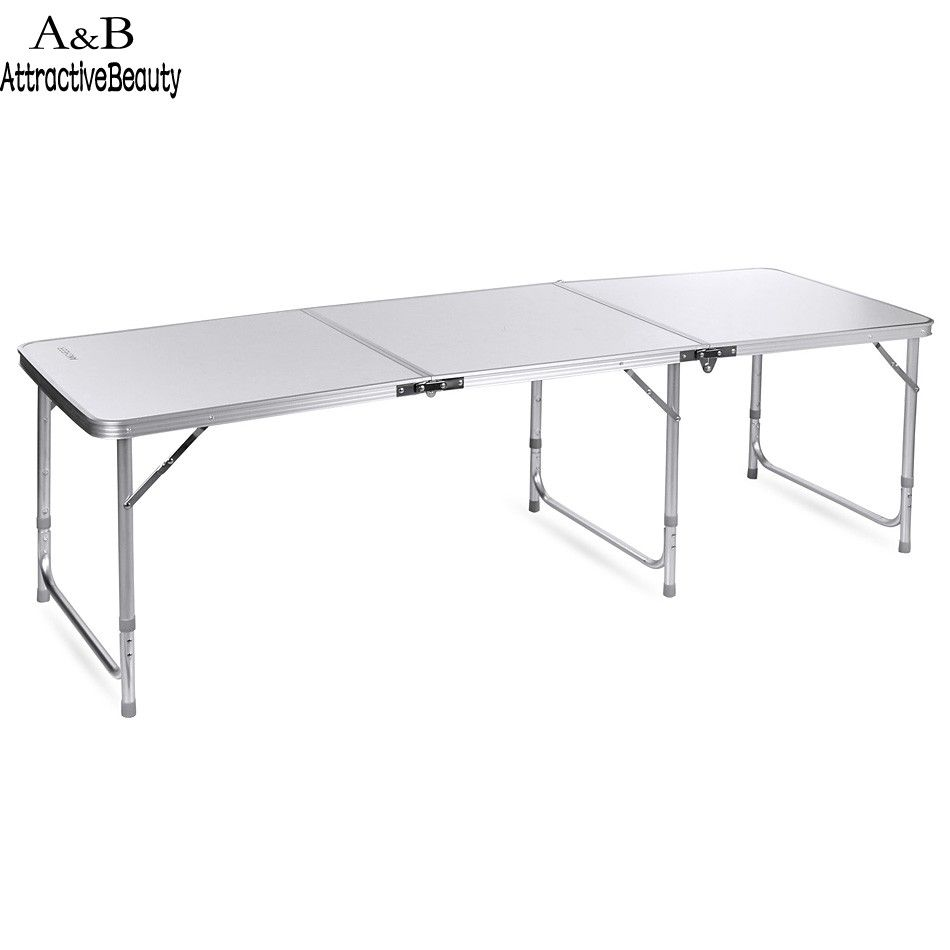 1pc Outdoor Folding Table Ultra light Aluminum Alloy Structure