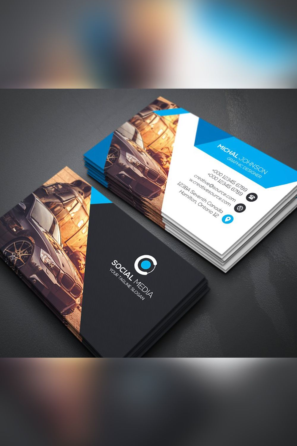 Rent A Car Business Card In 2020 Cleaning Business Cards Simple Business Cards Premium Business Cards