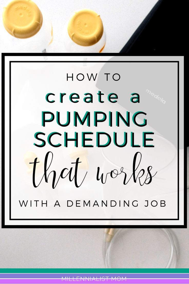 How To Create The Perfect Pumping Schedule For Work -2172
