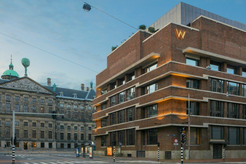 baranowitz kronenberg designs the W amsterdam hotel