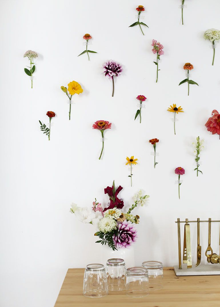 Diy Floral Wall Backdrop Flower Wall Decor Flower Wall Hanging