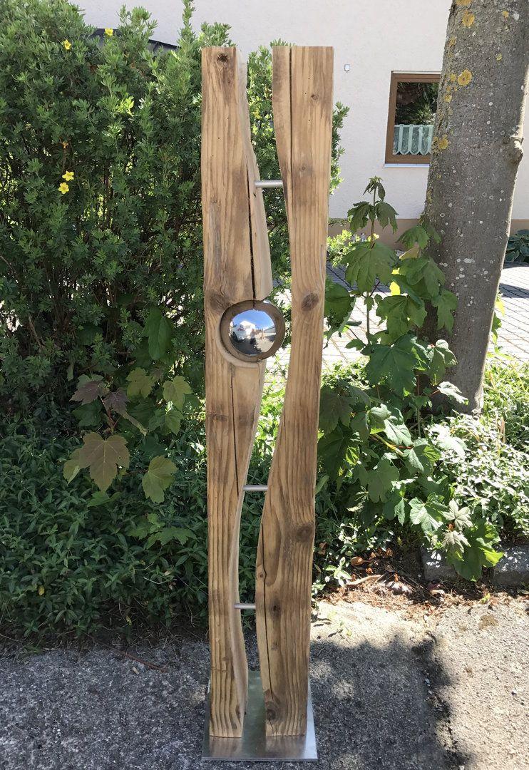 Pin Von Chris Fenwick Auf Holzfuchse Gartenkunst Garten Deko Garten