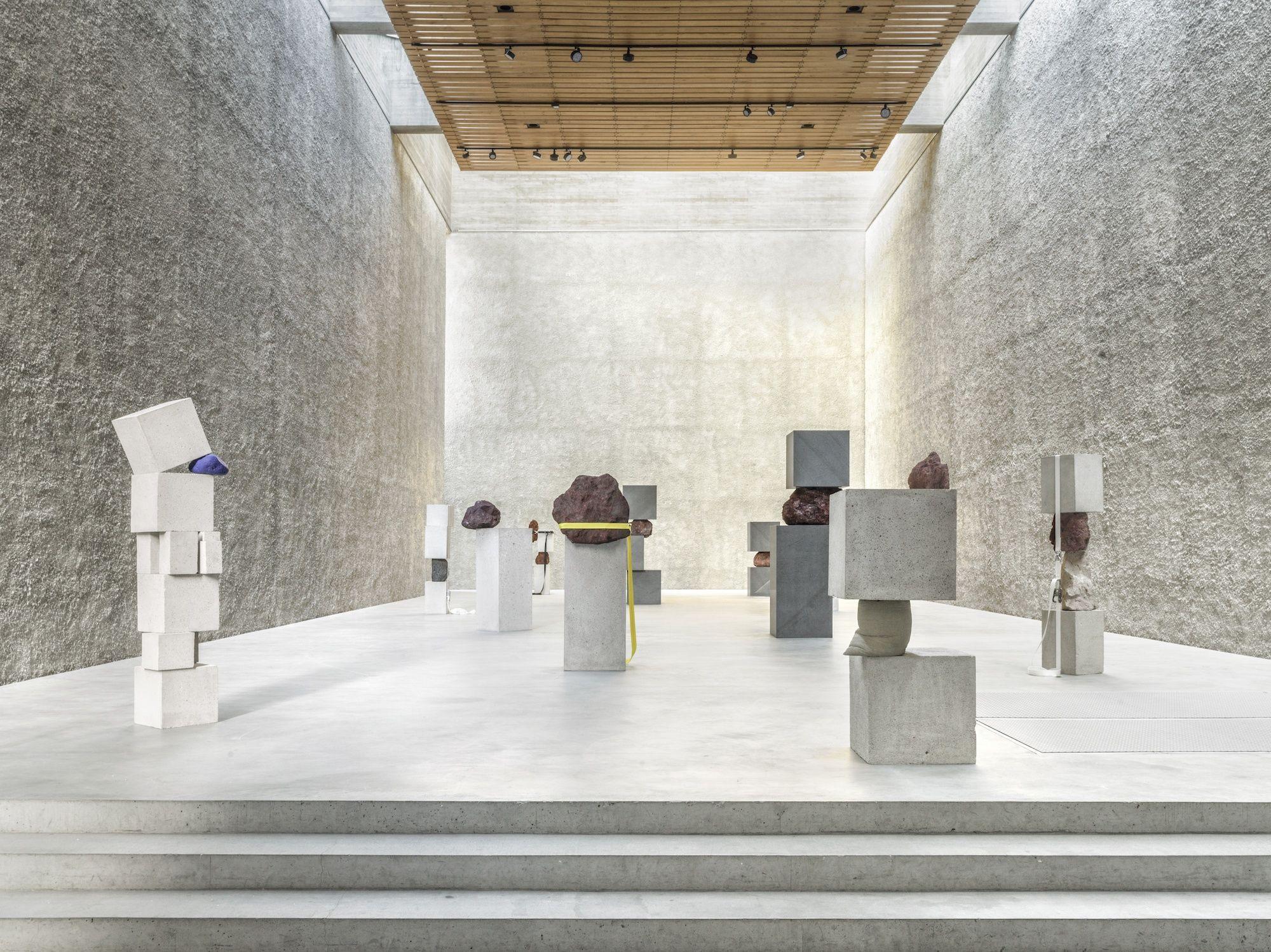 Studio Mk27 S Radical Exercise In Horizontality Ignant Exhibition Berlin Art Dealer