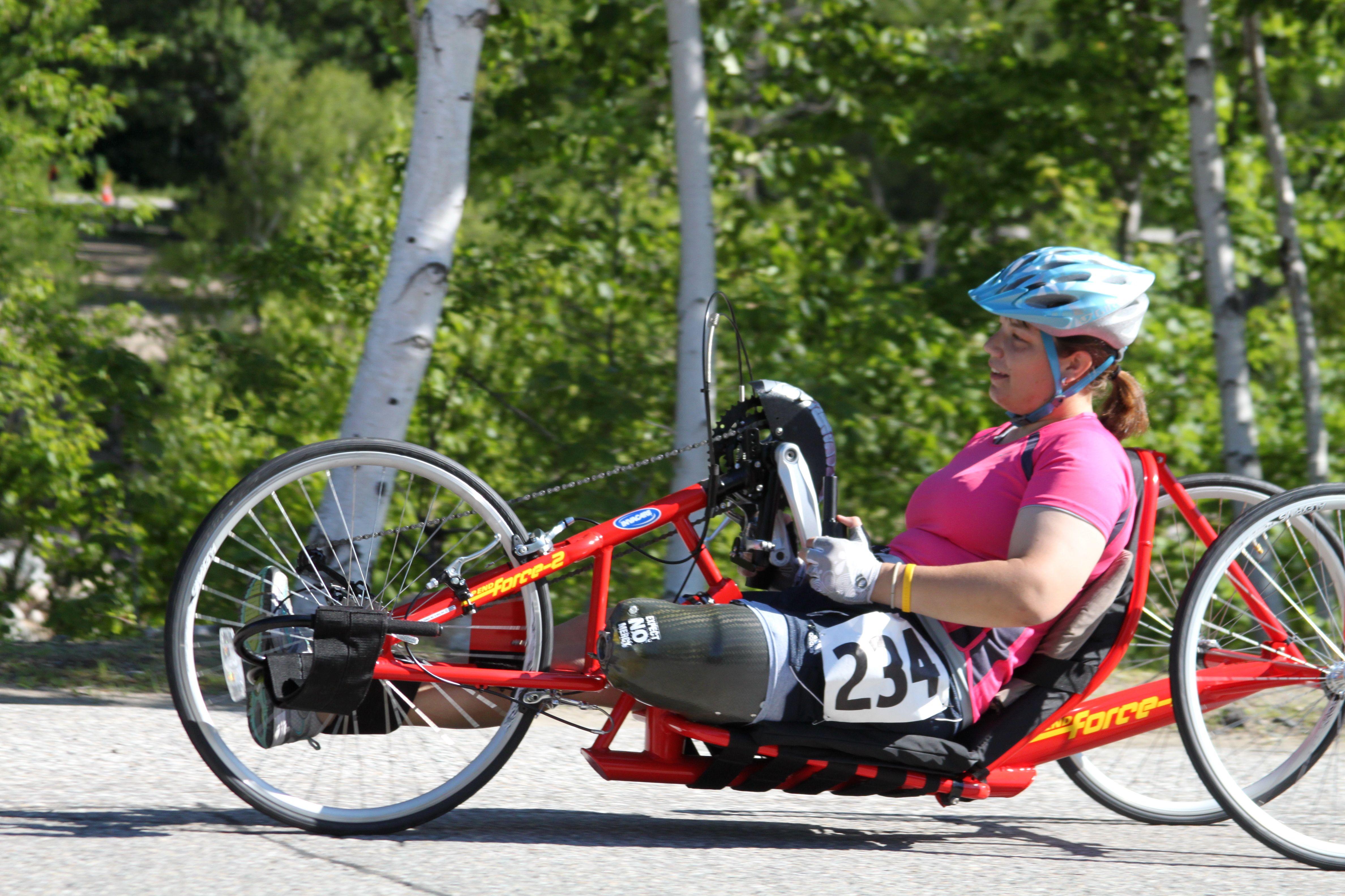 New England Disabled Sports, Adaptive Cycling Adaptive