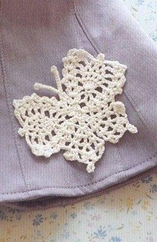 Crochet butterfly ♥LCA-MRS♥ with diagram. ---Вязание бабочки ...