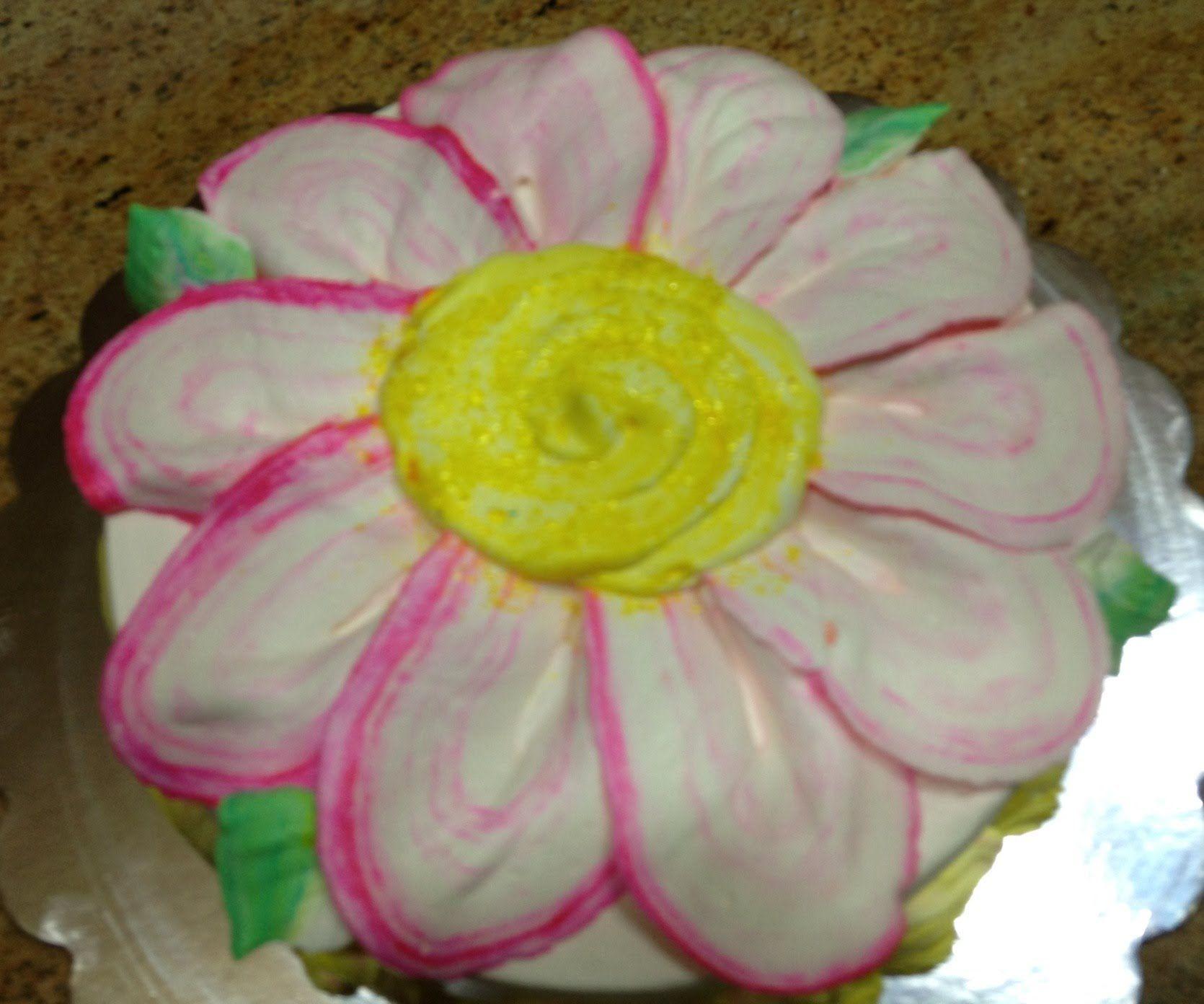 Daisy Cake Cake Decorating How To Cake Decorating Pinterest
