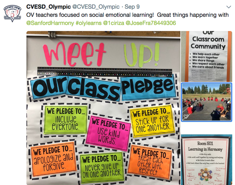 Olympic View   Teacher inspiration, Social emotional learning, Classroom  goals