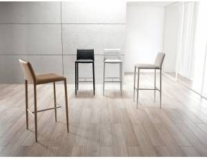 Gently sgabello in ecopelle stools bar stools