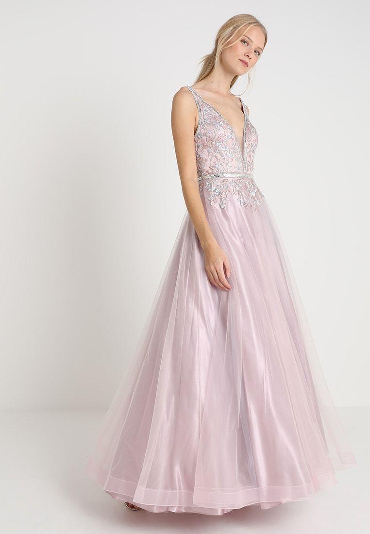 luxuar fashion ballkleid - rosé - zalando.de 350