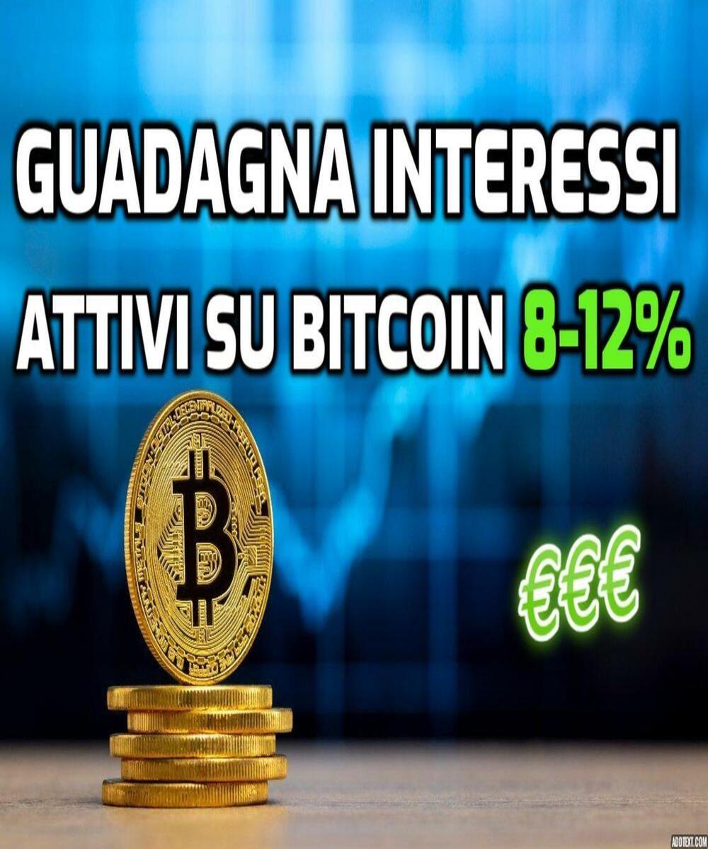 di interesse di deposito bitcoin