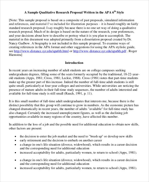 Qualitative Research Examples Check More At Https