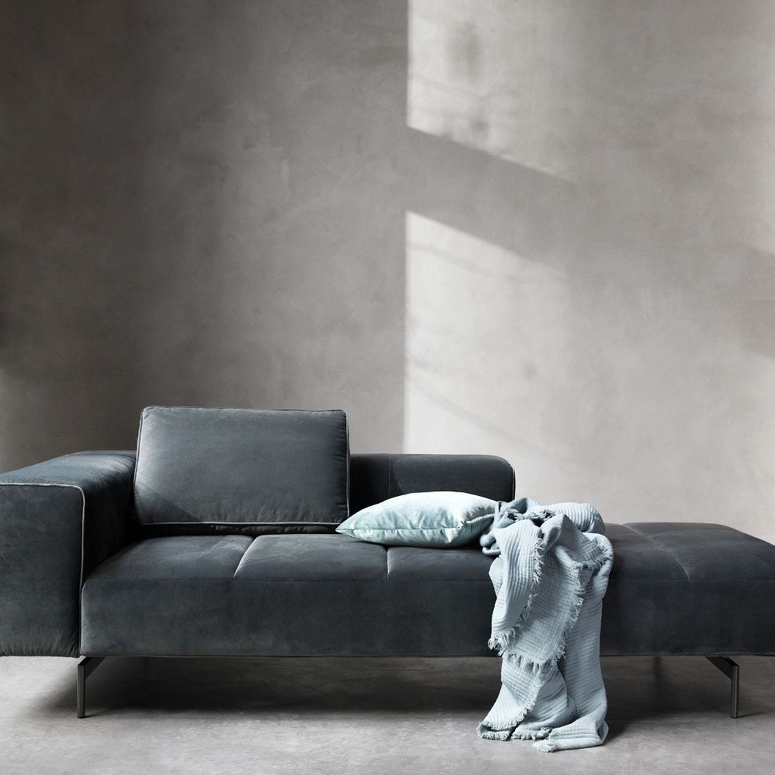 Chaise lounge sofas amsterdam lounging module for sofa medium armrest right boconcept