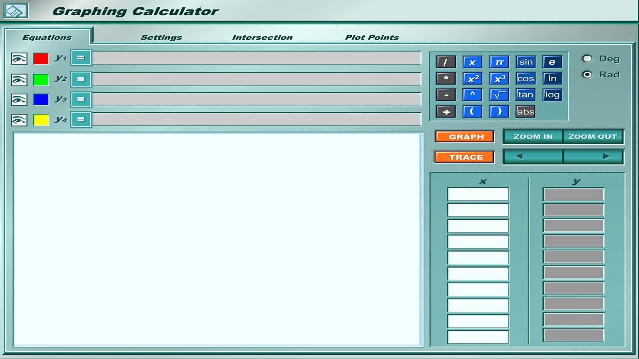 Follow this link for a FREE Online Graphing Calculator: http://my ...